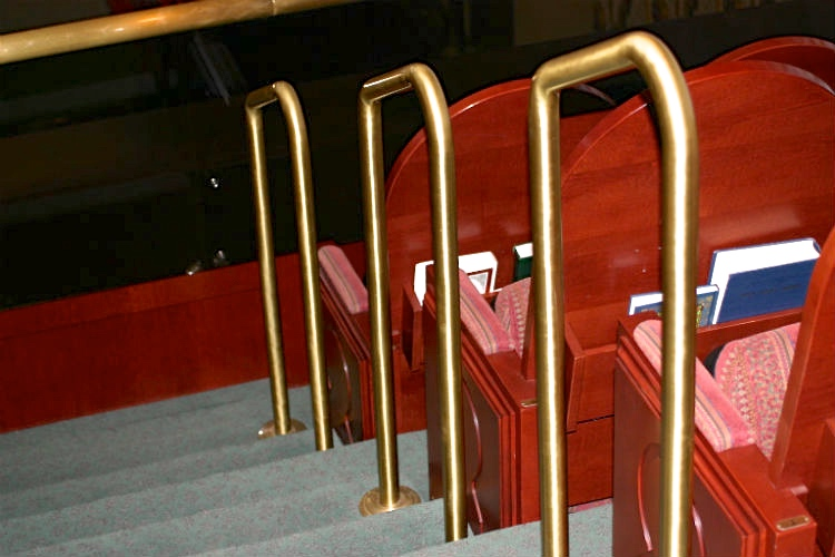 Theater handrail