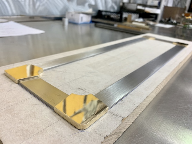 Brass / Stainless Trim